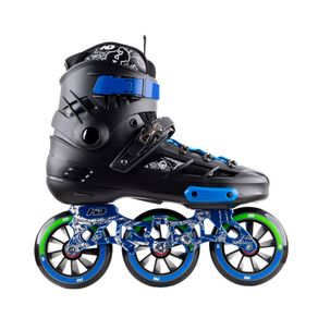 Patins Hondar HD Skull New 110mm - custom: Azul 38