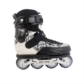 Patins Seba Cj 2 Branco Com Base GC 80mm 37
